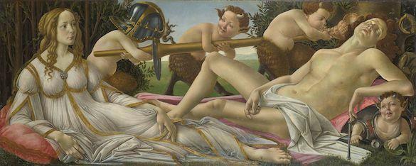 Sandro_Botticelli - Venus si Marte