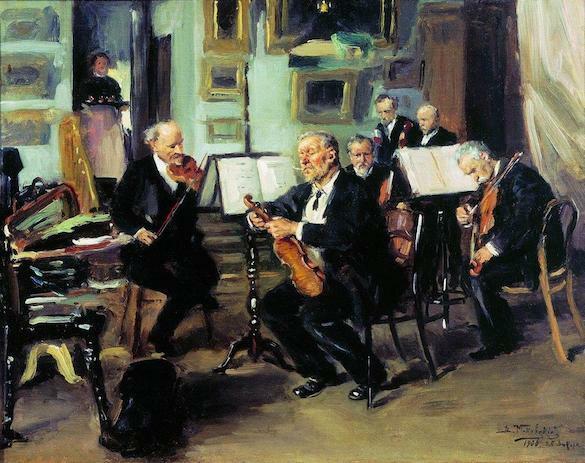Vladimir Makovsky - Serata Muzicala1906
