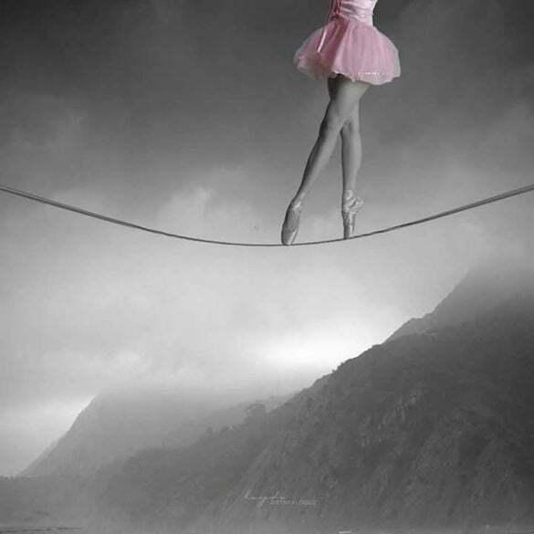 femeie balerină