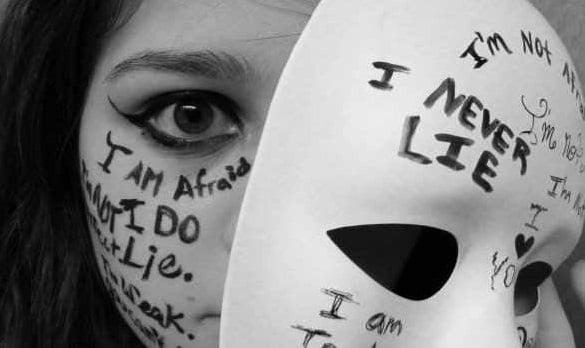 masca ipocrizie