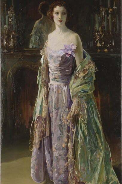 Sir John Lavery - Haina verde, 1926