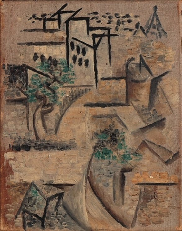 1911_L'Avenue_Frochot__vu_de_l'atelier_de_Picasso