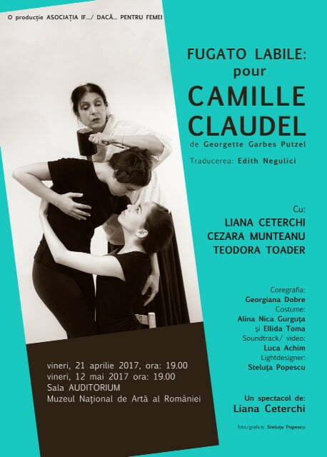 Afis Camille Claudel VINERI 14 APR