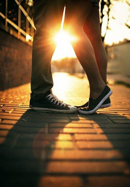 cuplu picioare