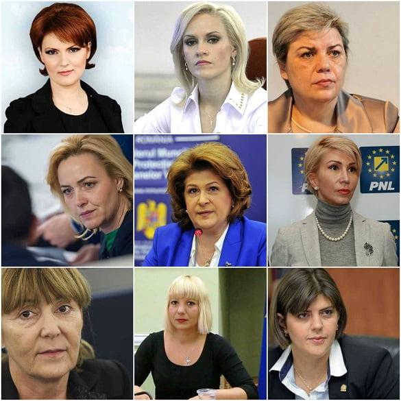 femei politica romania