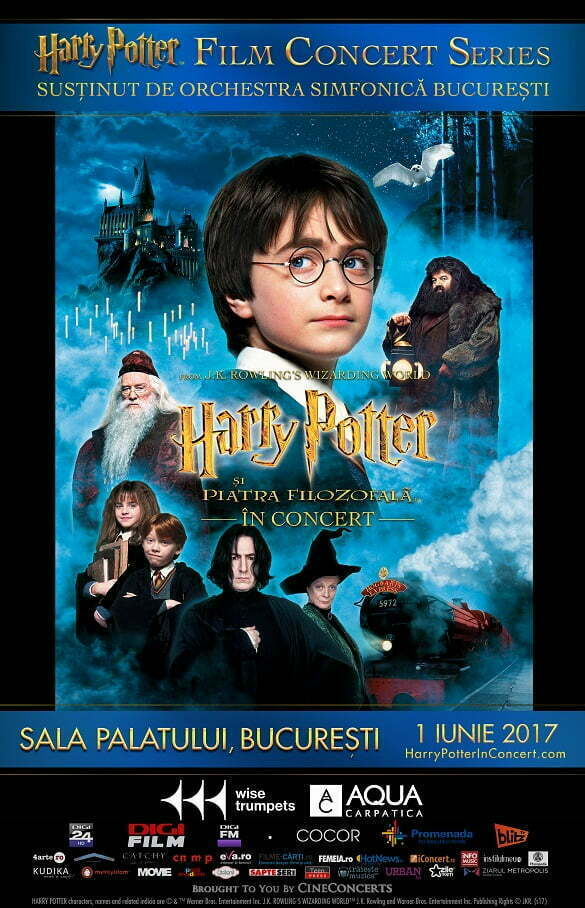Afis Harry Potter In Concert