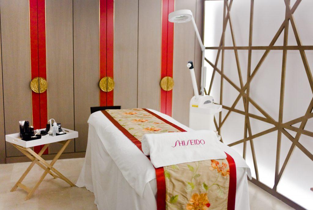 Shiseido Spa Treatment room