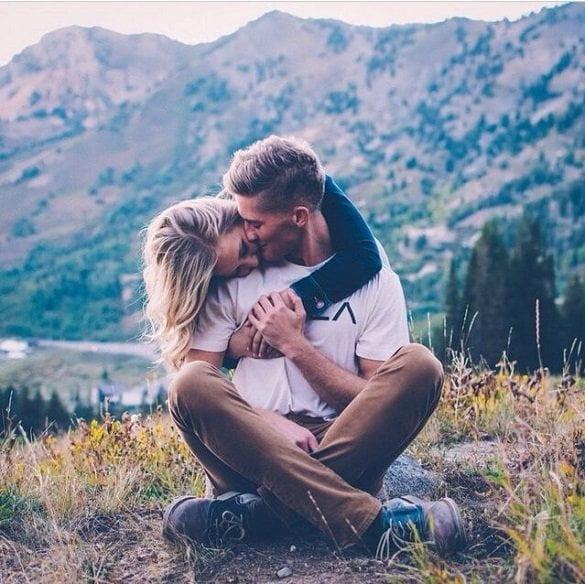 cuplu sarut ok