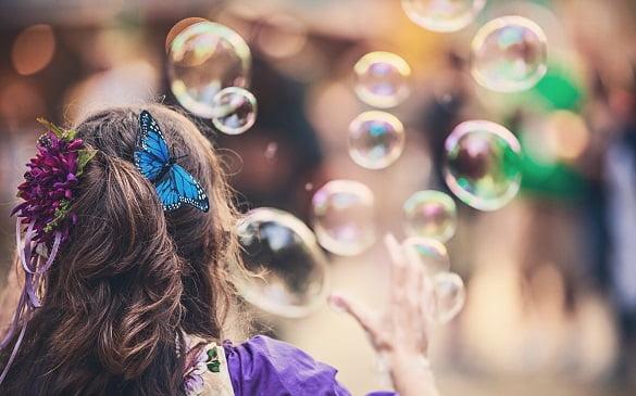 femeie baloane de sapun