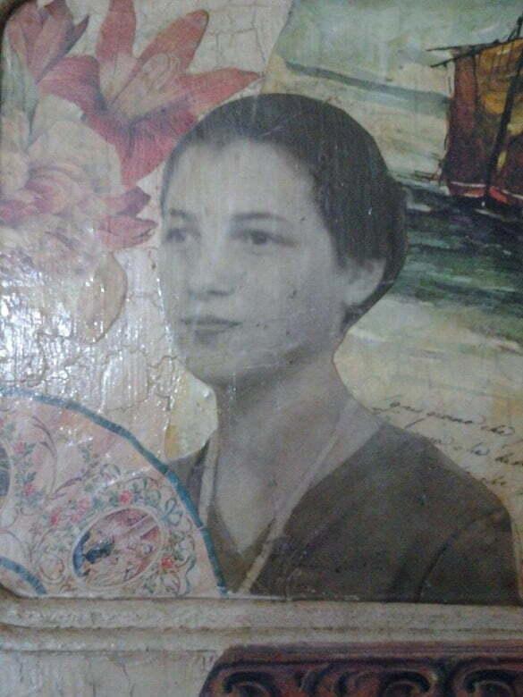 femeie retro