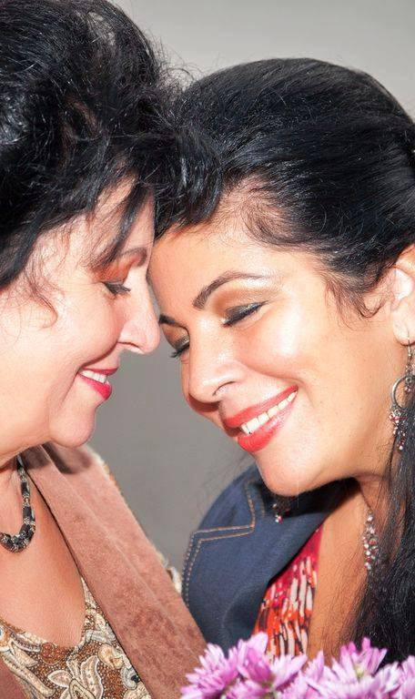 Angela Baciu si mama