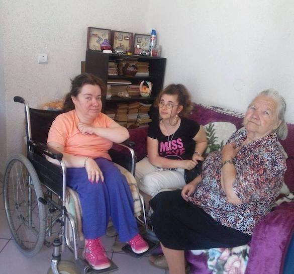 Daniela Gârlă, cu mama și nepoata