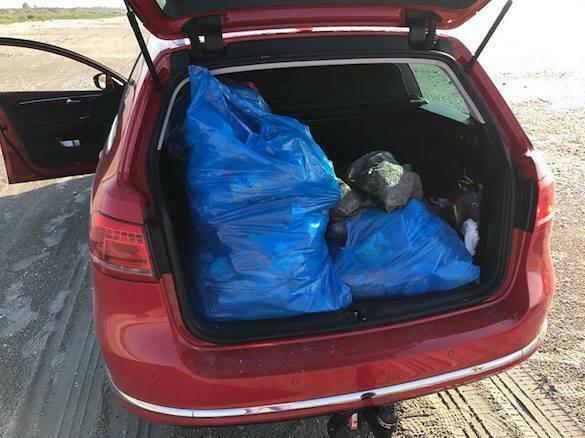mașină gunoaie