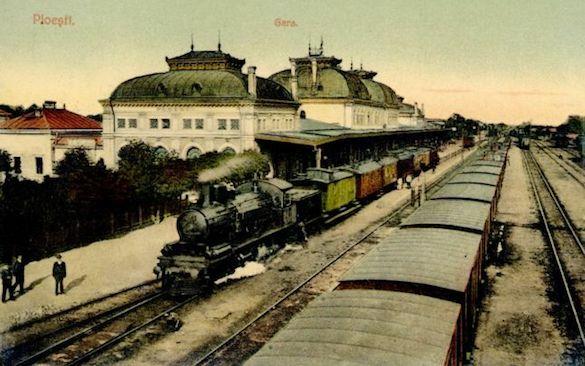 peron gară