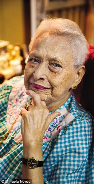 MUMBAI, INDIA Stella was close to her 100th birthday when I met her
