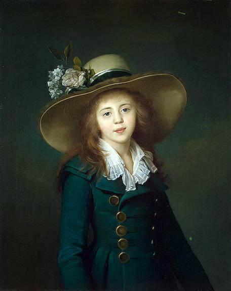 Jean-Louis Voille: Portret of Ekaterina Stroganova