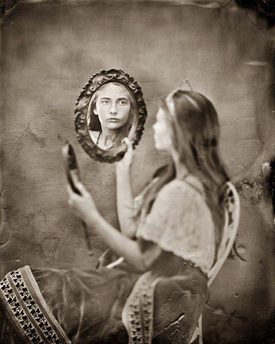 fata oglinda