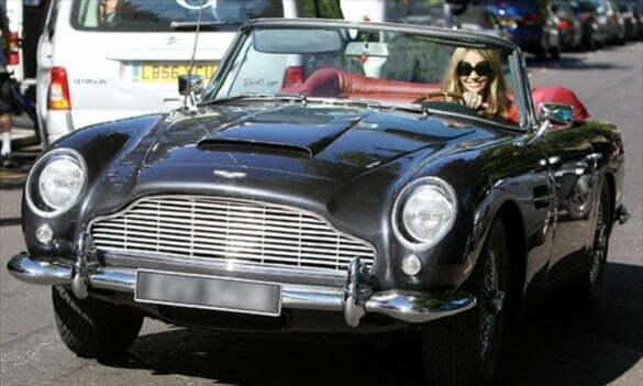 Elle Macpherson Aston Martin