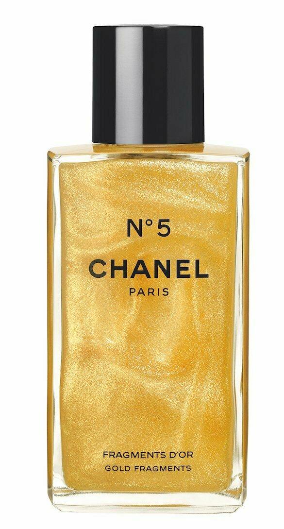 gold chanel