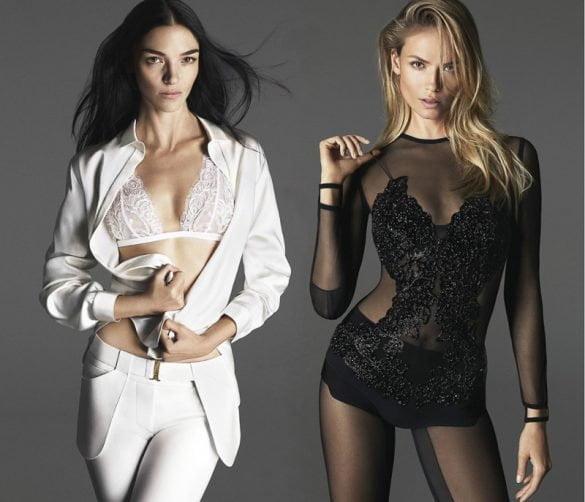 Mariacarla Boscono și Natasha Poly