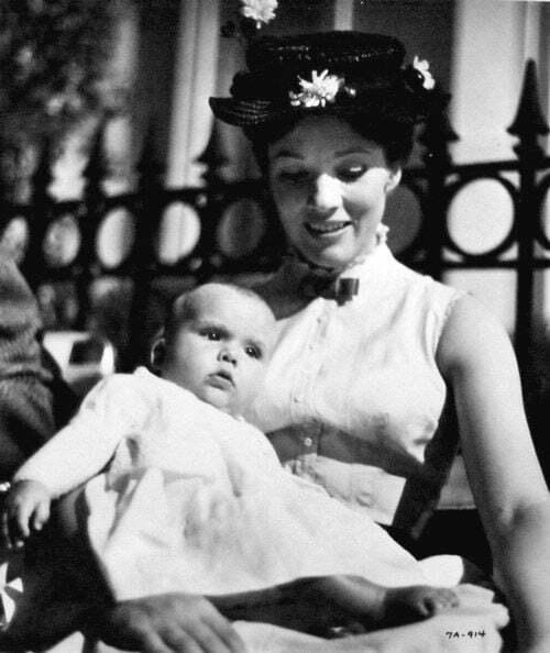 Julie Andrews and daughter Emma