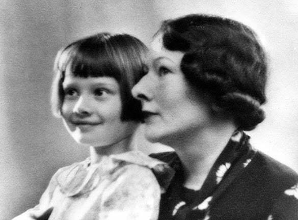 audrey și mama ei