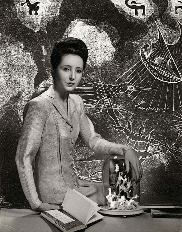 Anais-Nin-for-the-cover-of-Under-a-Glass-Bell-by-Ian-Hugo