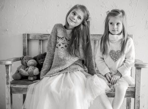 surori fetite copii