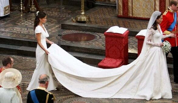 Kate Middleton's wedding dress - an impact on a whole industry