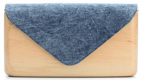Lemnia - plic din lemn si denim_Made in RO
