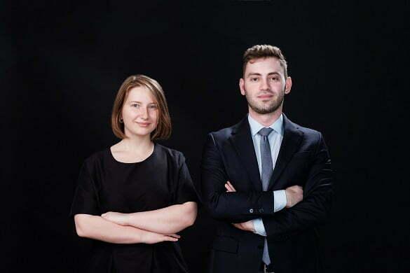 Raluca HRITCU si Stefan MORTICI, co-CEO Gault&Millau Romania