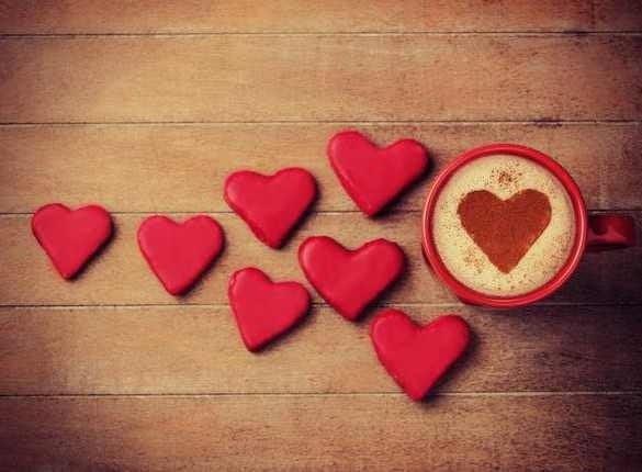 inima cafea