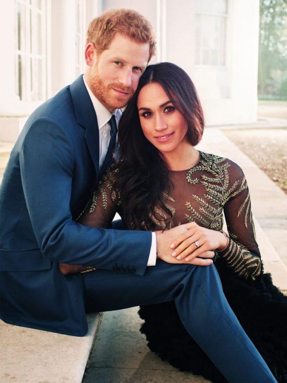 meghan în ralph & russo logodnă