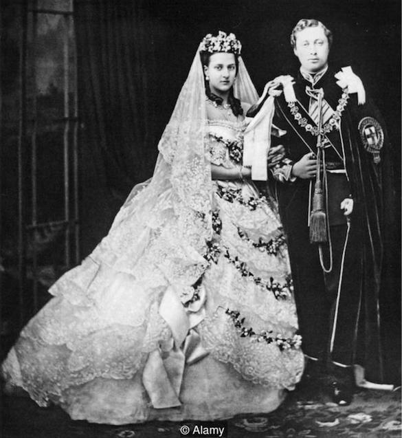 nunta alexandra, crdit alamy