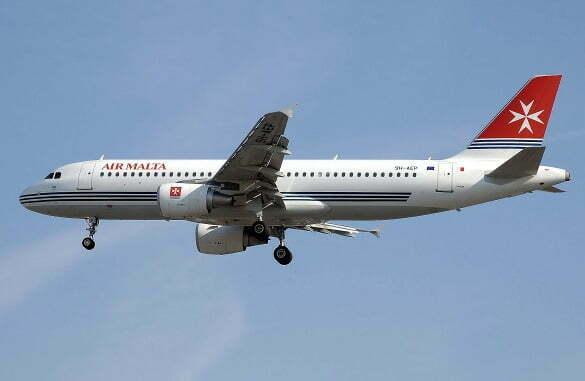 zboruri Air Malta