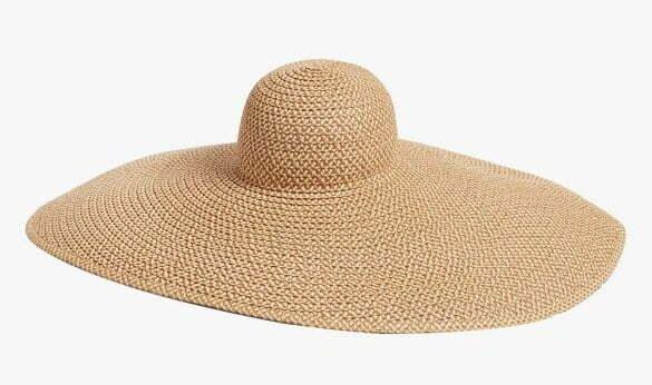 Eric Javits giant floppy hat, $450, ericjavits.com