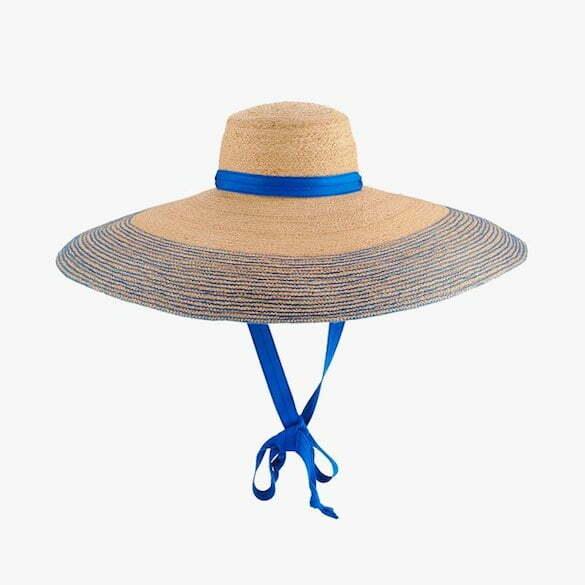 Lola Hats Nomad wide-brim raffia hat, $388, neimanmarcus.com