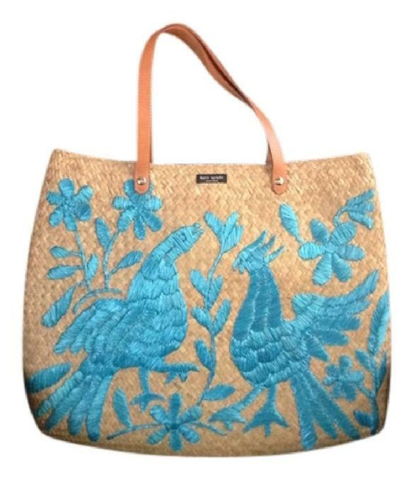 kate-spade-light-brownturquoise-straw-with-embroidery-design-tote-825591-0-0