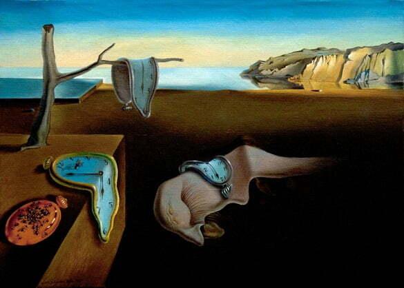Persistenta memoriei Salvador Dali
