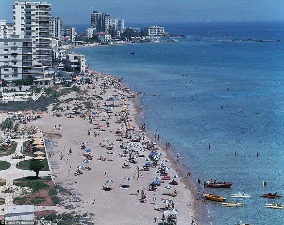 In the early 1970s, the Varosha quarter of Famagusta was a top tourist destination, with golden sands, hotels and shopping precincts