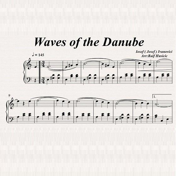 J.Ivanovic - Waves of the Danube