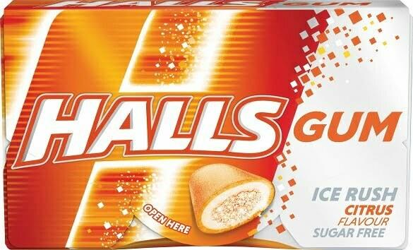 Halls-Citrus-Gum