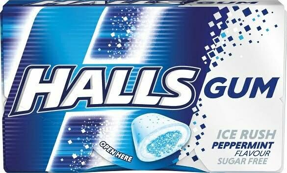 Halls-Peppermint-Gum