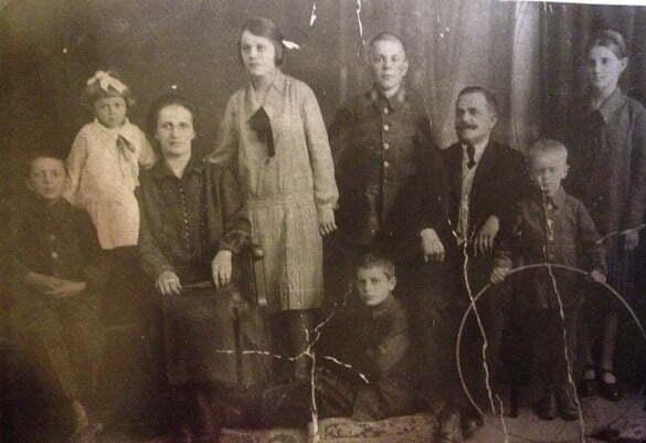 familie interbelica