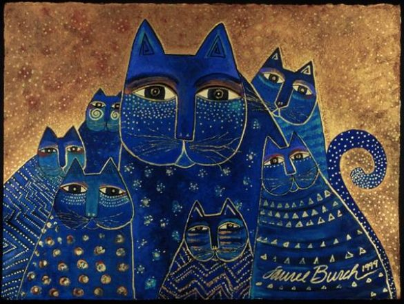 pisici laurel burch