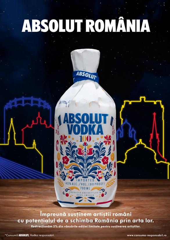 ABSOLUT se imbraca in primul design de inspiratie romaneasca_ABSOLUT România Editie Limitata
