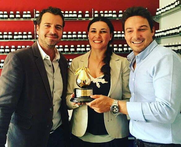 Mădălina, Julien și Luca Maffei, parfumierul