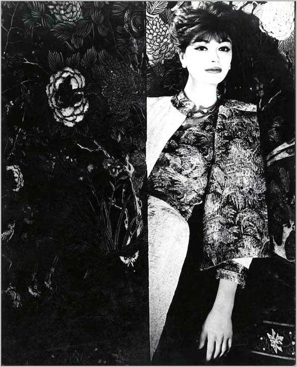 1958 colecția de haine Coromandel