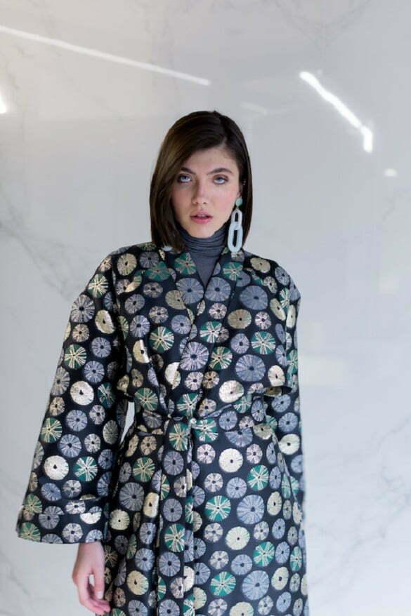 AGATHA Silk Brocade Kimono 300Euro