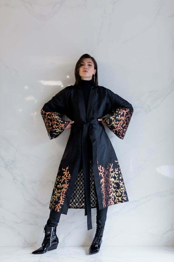 AGNES Silk Brocade Kimono 345Euro